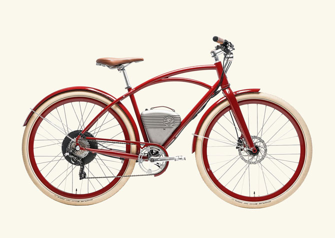 Powered vintage-style bikes by Vintage Electric