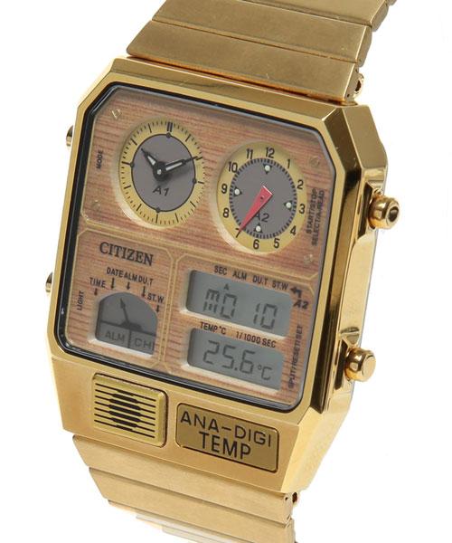 1980s Citizen Ana Digi Temp watch gets a reissue
