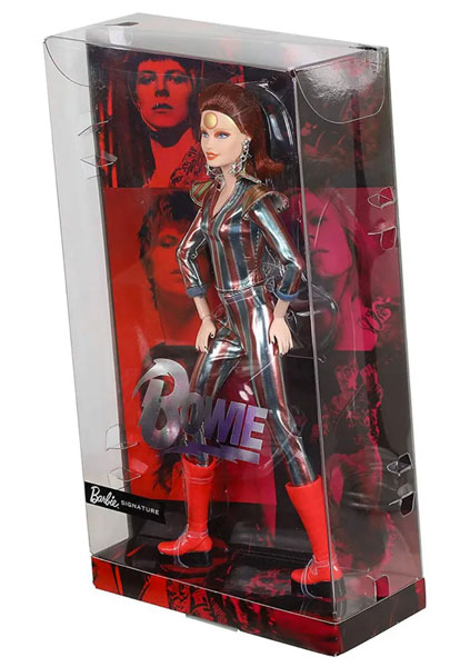 Limited edition David Bowie Barbie Doll by Mattel