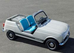 Retro summer driving with the Renault e-Plein Air