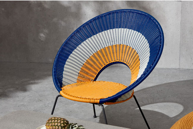2. Yuri target garden lounge chair at Made