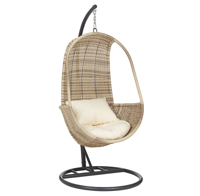 3. John Lewis & Partners Dante Pod hanging chair