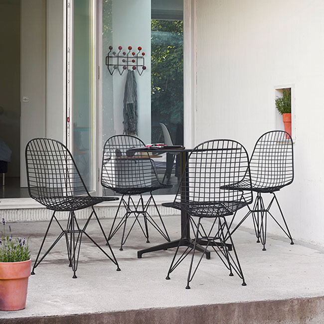 5. Eames outdoor DKR Wire Chair by Vitra