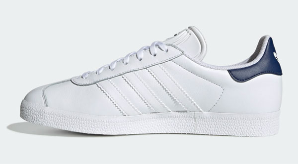 Adidas Gazelle trainers get a stylish white leather reissue