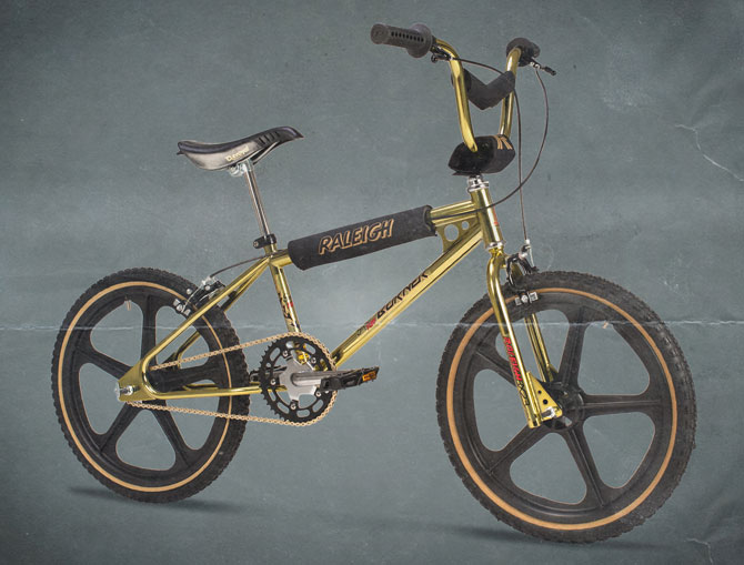 1980s MK1 Raleigh Super Tuff Burner bike back as a limited edition