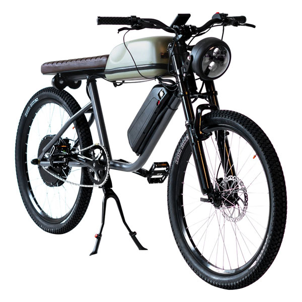Tempus Titan vintage-style electric bike