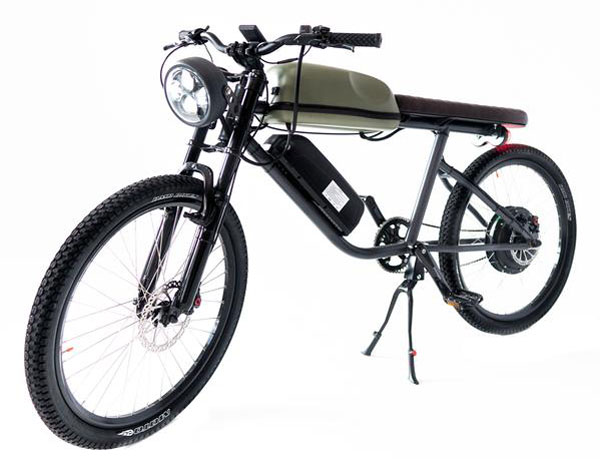 Tempus Titan vintage-style electric bike