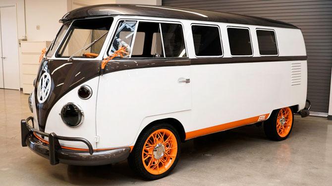 Volkswagen Type 20 electric van unveiled