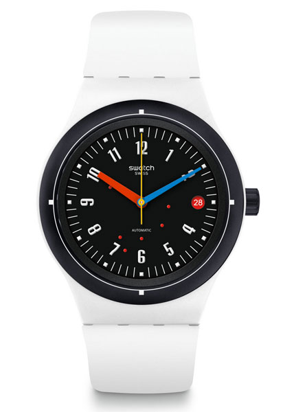 Bau range of Bauhaus-inspired Swatch watches