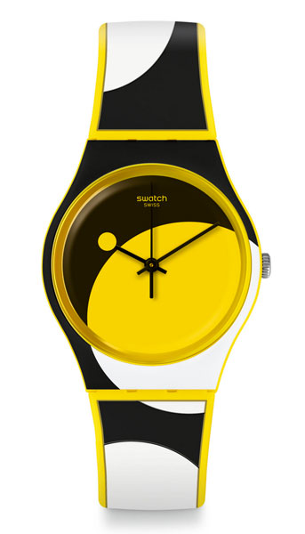 Bau range of Bauhaus-inspired Swatch watches