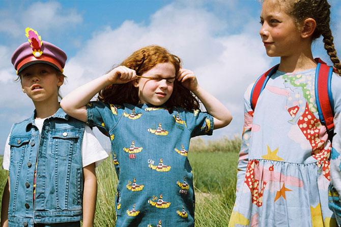 Yellow Submarine range for kids by Stella McCartney