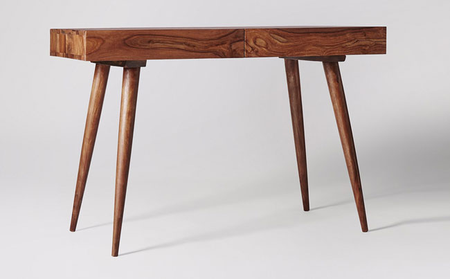 4. Retro Watts desk at Swoon