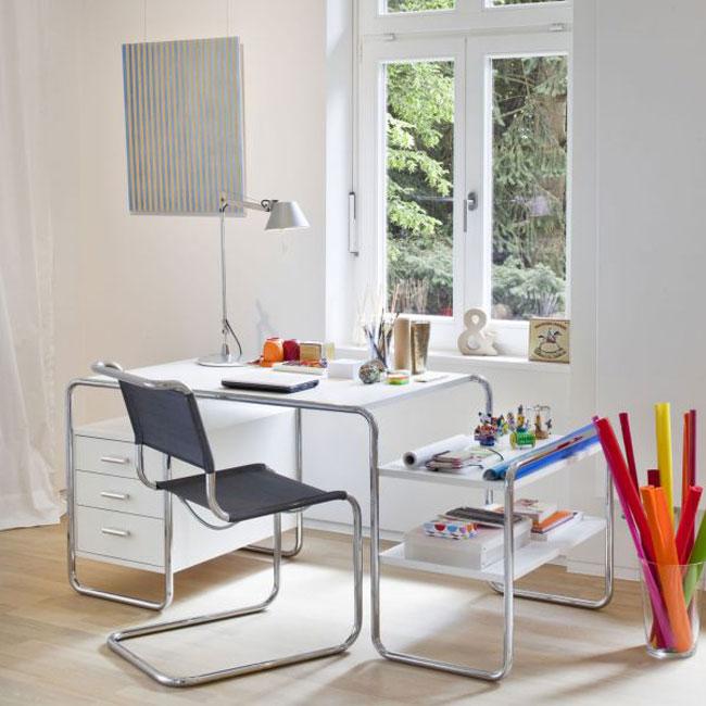 6. S285 Desk Bauhaus desk by Marcel Breuer from Thonet