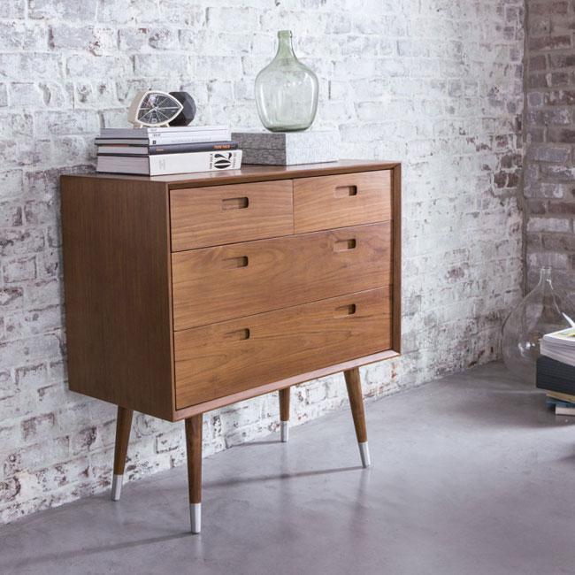 Magda 1950s-style furniture range at Tikamoon