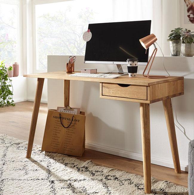 13. Retro Fatima desk by Hykkon