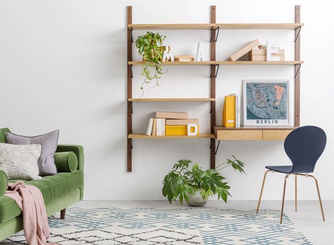 15. Jory modular desk unit at Made