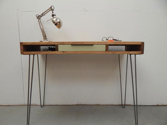 16. Juju handmade writing desk by Muju Furniture