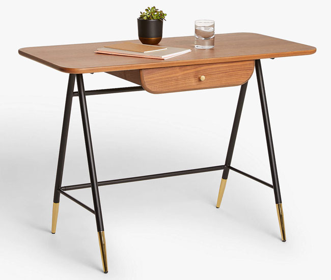John Lewis x Swoon 1950s-style Hargreaves desk