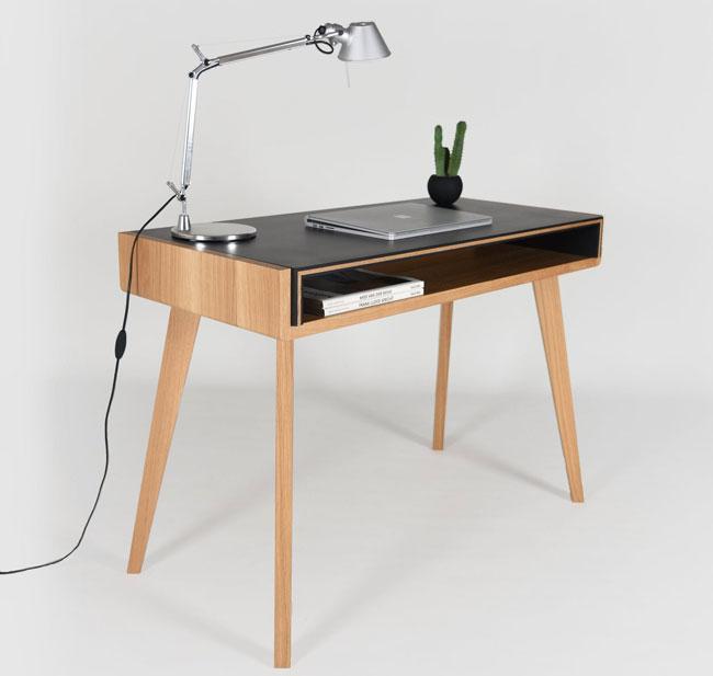 23. Handmade home desk by Ebanisteria Cavallaro