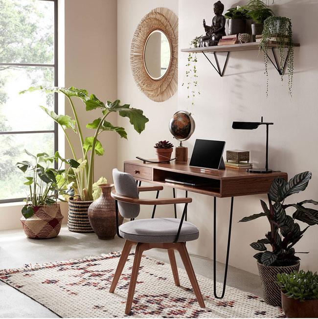 24. John Lewis & Partners retro hairpin desk