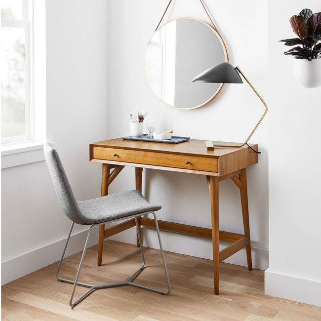 30. Mid-Century Mini Desk at West Elm