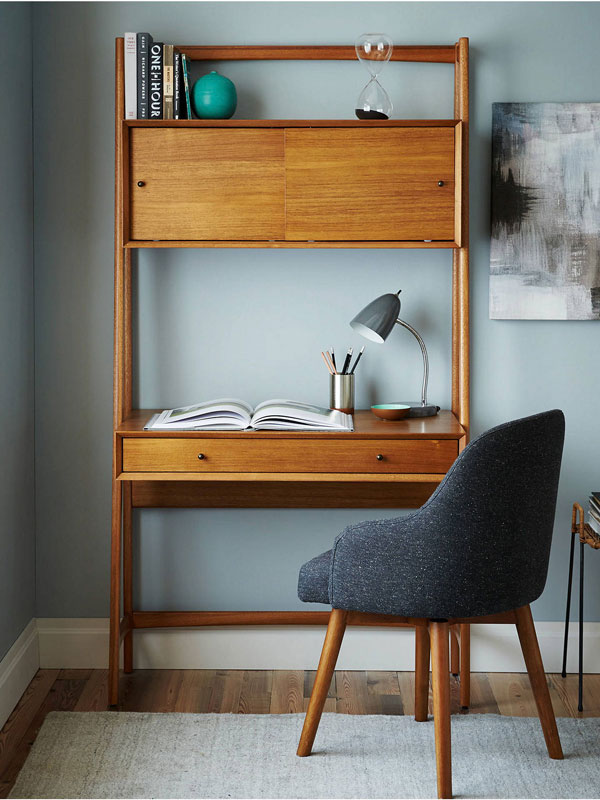 5. Mid-Century wall desk by Swoon Editions