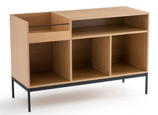 Compo oak vinyl storage unit at La Redoute