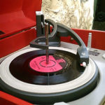 Refurbished 1960s Dansette Major Deluxe record players on eBay