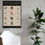 Midcentury modern emojis by Death By Modernism