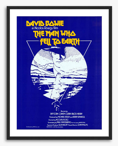 The Man Who Fell To Earth movie poster at John Lewis