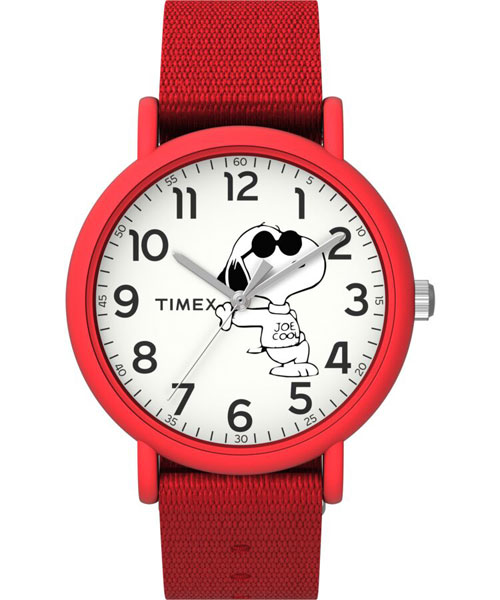 Timex x Snoopy Weekender watches