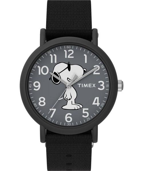 Timex x Snoopy Weekender watches