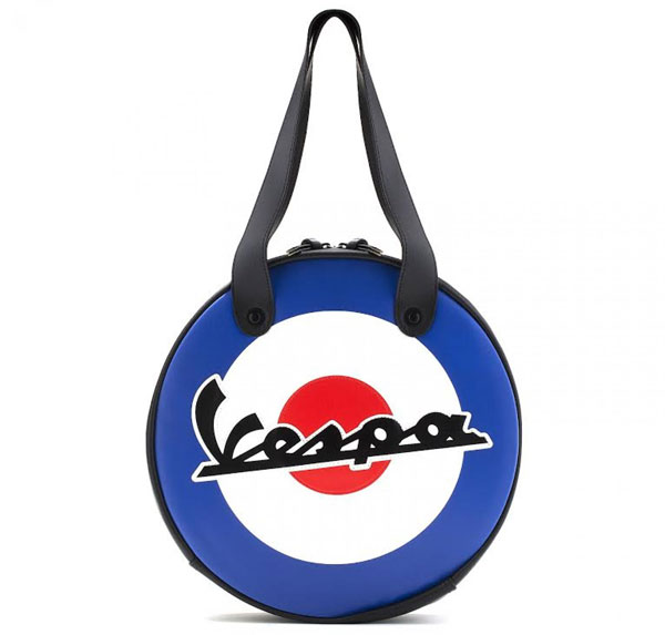 Official Vespa retro waterproof circular bags