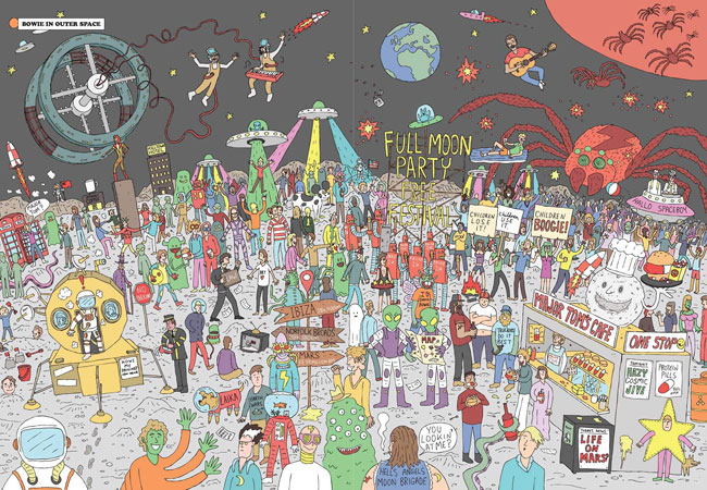 Where's Bowie? book by Kev Gahan