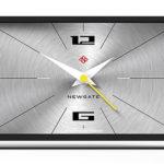 Thunderbird midcentury modern mantel clock by Newgate