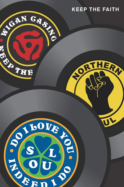 Northern Soul-themed notebooks and journals