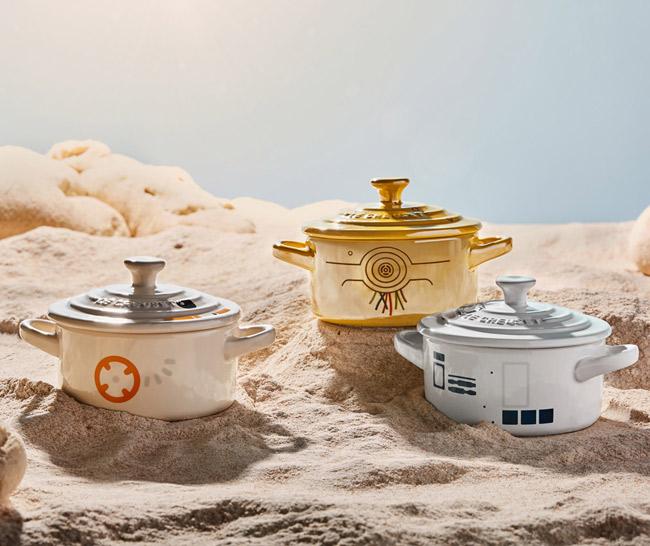 Le Creuset x Star Wars cookware range