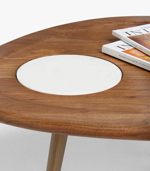 John Lewis x Swoon Wren midcentury modern coffee table