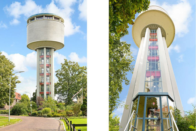 Buy a 1960s modernist tower for just one Euro