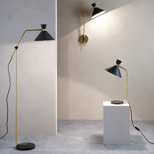 Zoticus 1950s-style lighting at La Redoute