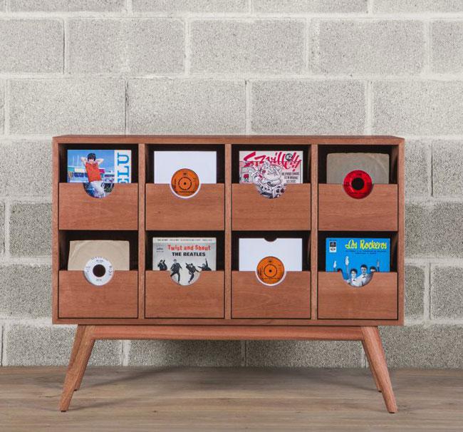 40. Allnighter 7-inch vinyl storage cabinet