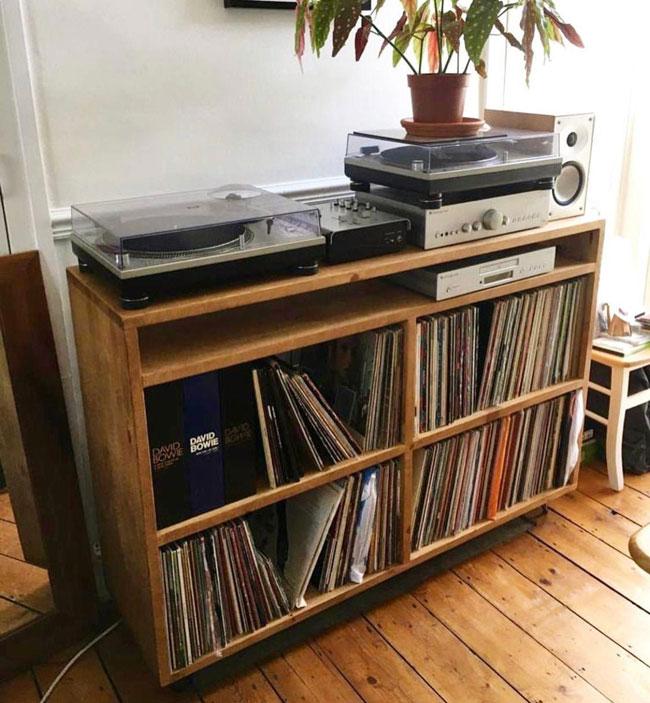 44. Vinyl storage cabinet range by Komoda Furniture