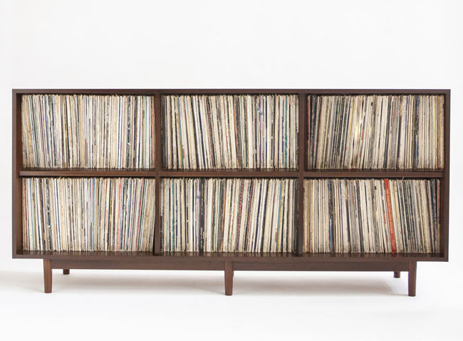 45. Double row record storage cabinet by Department Home