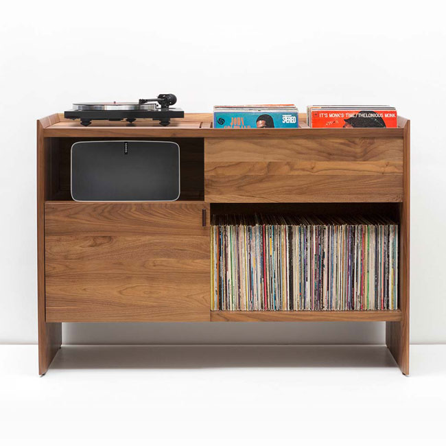 47. Unison Sonos record stand by Symbol