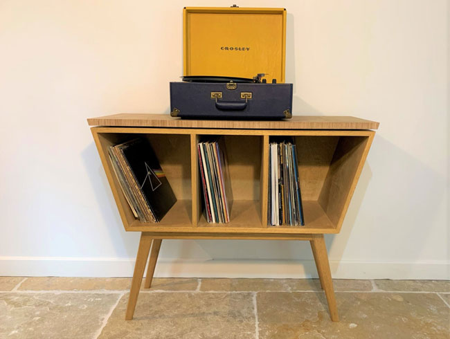30. Midcentury modern vinyl cabinet by DB Furniture
