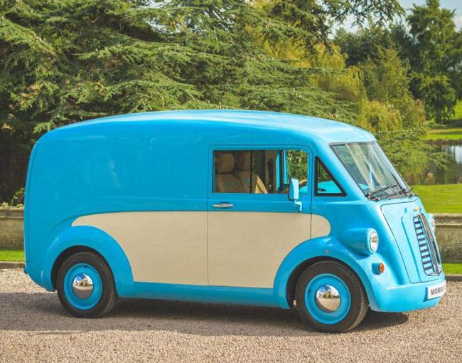 1940s Morris J-Type van returns as electric vehicle