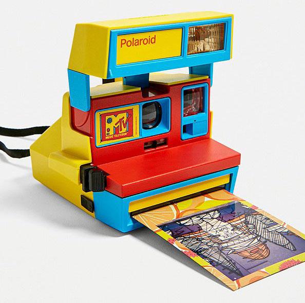80s throwback: Polaroid MTV Edition instant camera