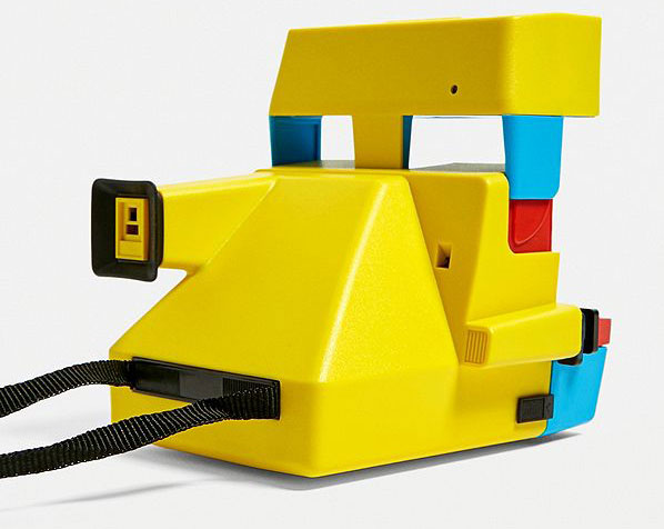 80s throwback: Polaroid MTV Edition instant camera