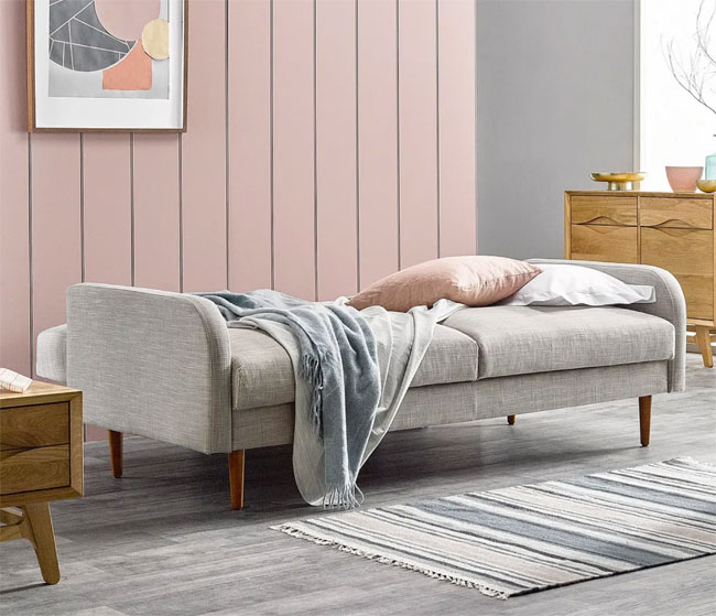 12. Orion fabric sofa bed at Oak Furnitureland