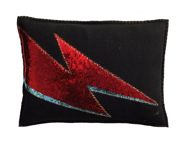 15. Jan Constantine Bowie cushion